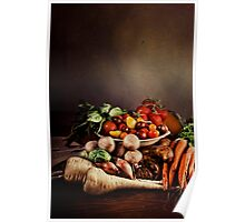 ~ Still Life with Vegetables ~ Poster