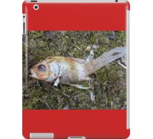 My goldfish has lost its color n°3 iPad Case/Skin