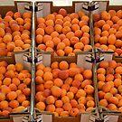 Italian apricots by Arie Koene