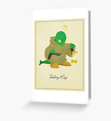 Tonberry King Greeting Card