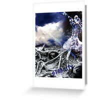 Edge of Reality Greeting Card