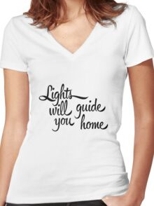 And I Will Try Women's Fitted V-Neck T-Shirt