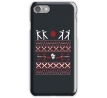 Zombie Christmas Shirt iPhone Case/Skin