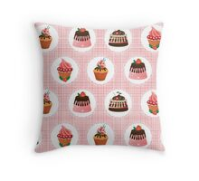 Sweets for my sweet Throw Pillow