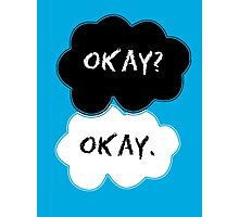 The Fault In Our Stars Clouds Photographic Print