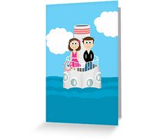 PhoneCase Boat Greeting Card