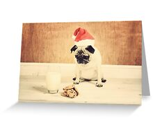 Honey is Santa Greeting Card