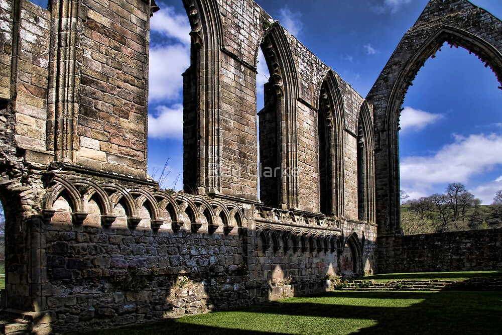 Bolton Abbey Priory Ruins by Ray Clarke