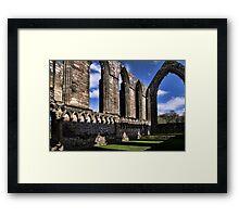 Bolton Abbey Priory Ruins Framed Print