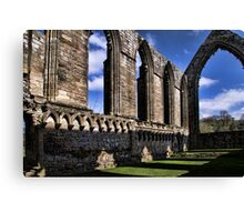 Bolton Abbey Priory Ruins Canvas Print