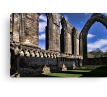Bolton Abbey Priory Ruins Canvas Print
