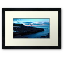 Newcastle At Dusk Framed Print