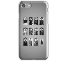 The Twelve Doctors iPhone Case/Skin