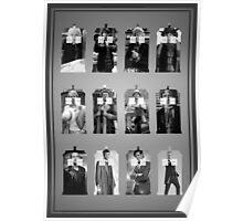 The Twelve Doctors Poster