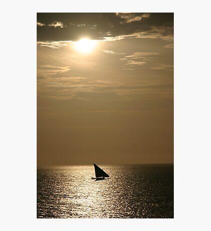 Sundown Africa Photographic Print