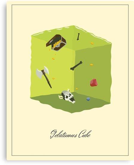 Gelatinous Cube by Simon Alenius