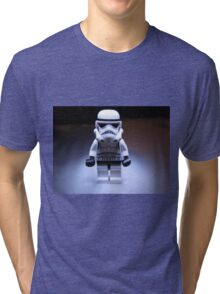Dave Stormtrooper - Beam Me Up Tri-blend T-Shirt