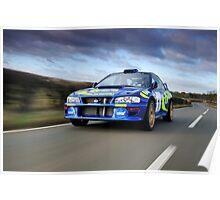 Road Legal Full Spec WRC Subaru .... Poster