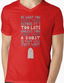 Motivational Speaker Mens V-Neck T-Shirt