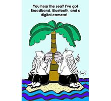 The Desert Island Gag, Photographic Print