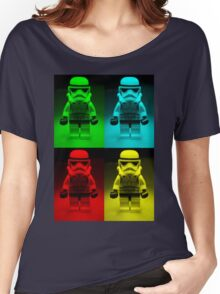 Dave Stormtrooper  Collage  Women's Relaxed Fit T-Shirt
