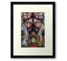 Faith Shines For You Framed Print