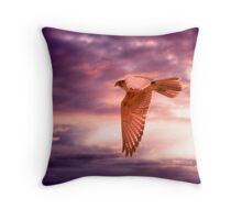 The Hunt - Murray Valley, Palmer, South Australia Throw Pillow