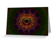 Heart of Darkness I Greeting Card