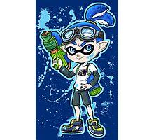 Squid Boy Photographic Print