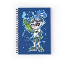 Squid Boy Spiral Notebook