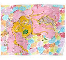 'Flower Spirit' ~ Original Pieces Art™ Poster