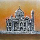Taj Mahal by Valentina Henao