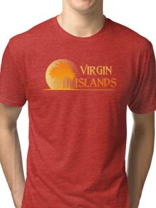 Virgin Islands Paradise Tri-blend T-Shirt