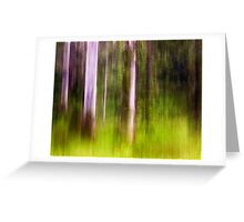 Mitchell Park ~ an impressionist's view III Greeting Card