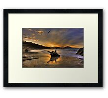 Before the Day Was Spoiled Framed Print