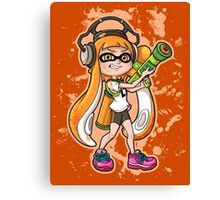 Squid Girl Canvas Print