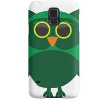 Green Owl Samsung Galaxy Case/Skin