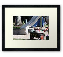 Child's Playground Framed Print