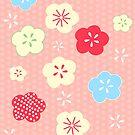 Tokyo Blossom [20x20 edition] by Tiffany Atkin