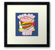 You are what you eat! Framed Print
