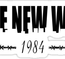 BRAVE NEW WORLD 1984 Sticker
