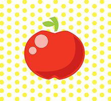 Ringo Red Delicious [30x30 edition] by Tiffany Atkin