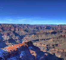 Cold winters day at the Grand Canyon by glennwest