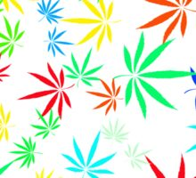 Juicy Marijuana Leaves Sticker