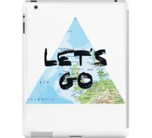 Let's Go! Triangular Europe Map iPad Case/Skin