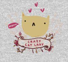 Crazy Cat Lady Baby Tee