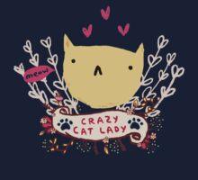 Crazy Cat Lady One Piece - Short Sleeve