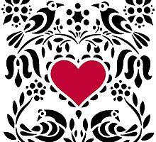 Valentine's Day Heart by Zehda