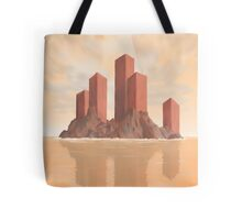 Red Fortress Tote Bag
