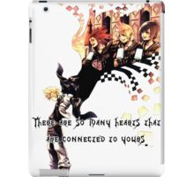 Kingdom Hearts Roxas memory iPad Case/Skin
